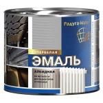 Эмаль алкидная д/радиатор.бел.0,4 кг/Радуга/14шт