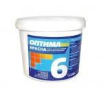 Краска моющаяся ОПТИМА-6 1,5 кг.
