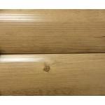 Сайдинг Блок-хаус Светлое дерево Глянец 6м* 0,355(0,335)