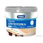 Краска в/д для потолка 1,4кг( 0,9 л) Профи Текс