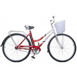 Велосипед 2-х колесный, с корзиной Байкал жен. 2809