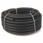 Шланг Погонаж гофрированный D25мм 100м черный