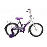 Велосипед 2-х колесный для детей с поддер. роликами В1803 Байкал