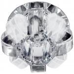 Светильник DK31 CH/WHMWH декор корона хром/прозр/мат ЭРА