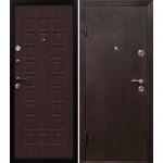 Дверь мет. Йошкар Венге (860R) правая   Мин. вата