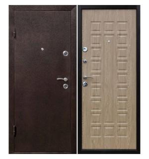 Дверь мет. Йошкар Ель карпатская (860R) правая   Мин. вата