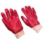 Перчатки ПВХ с апликатором черные р.9 Профи  /92015