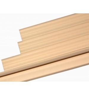 Плинтус потолочный Р-02 Агат персик 35*35 1м