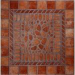 Кафель Помпеи красная пол 1PM0013 (330*330) (0,111м2)