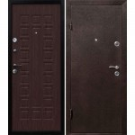 Дверь мет. Йошкар Венге (860L) левая   Мин. вата