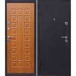 Дверь мет. Йошкар Золотистый дуб (860L) левая   Мин. вата