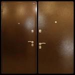Дверь мет. Йошкар Мет/Мет (860L) левая 3петли