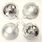 Набор игрушек Серебро 7см. 4шт. HF704-01/D798 (44141)