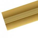 Стык 38мм 1,8 анодированный золото матовый