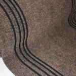 Дорожка 0.8м Ковролин Синтелон стазе-урб SSSU1-711-80 коричневый (длина 25м)