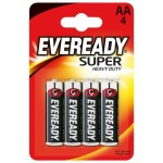 Батарейка Evereadu Super Heavy Duty  AA/R6 FSB4 /бл 4 шт 590