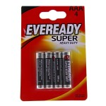 Батарейка Evereadu Super Heavy Duty  AAA/R03 FSB4 /бл 4 шт 550