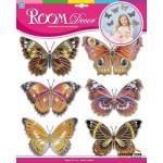 Наклейки Шелковые бабочки №2 HPA 4402