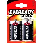 Батарейка Evereadu Super Heavy Duty  D/R20 FSB2 /бл 2 шт 613