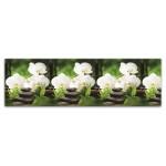 Панель отделочн. АБС  Белая орхидея  600*3000 пластик №0501