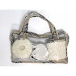 Банный набор 4пр,в сумке/569895
