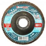 Диск лепестковый по металлу Р 120 125х22мм ЛУГА 12120л