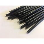 Стержни клеевые для термо пистолета черн.11*200мм (уп6шт.) БИБЕР 60133