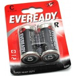 Батарейка Evereadu Super Heavy Duty  R14 FSB2 /бл 2 шт 606