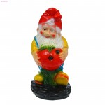 Фигурка садовая Гном с яблоком (46*24см)