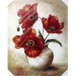Картина МДФ 38*48 Маки в вазе