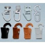 Комплект крючков к пласт. карнизу (50шт) (33795)
