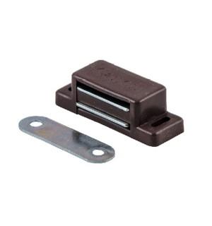 Магнит мебельный малый коричневый (00258)