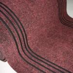 Дорожка 1,0м Ковролин Синтелон стазе-урб SSST1-712-100 красный (длина 20,25м)