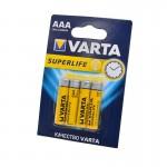 Батарейка Varta 2003 Superlife  BL-4 //396 ААА