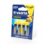 Батарейка Varta 4103 Energy LR03  BL-4 ААА