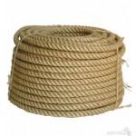 Веревка джутовая д.19мм / 100м
