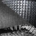 Щетинистое покрытие FT Metallic 95 (черный) 16м