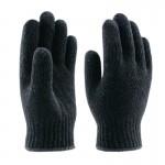 Перчатки п/ш Зима черные двойные