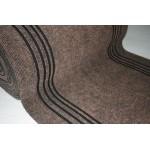 Дорожка 1,2м Ковролин Синтелон стазе-урб коричневый (длина 15м)