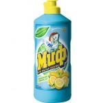 Жидкость д/посуды МИФ 1л  Лимонная Свежесть