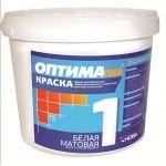 Краска для  потолков ОПТИМА-1 1,5 кг. Нова