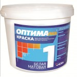 Краска для  потолков ОПТИМА-1 14 кг. Нова