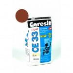 Затирка Ceresit 2кг темно-корич №58