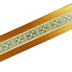 Карниз Галант-Амулет 3-х рядный 3,0м Золото