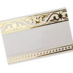 Карниз Галант-Монарх 3-х рядный 2,5м Золото