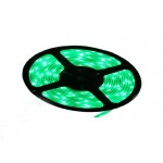 Лента светодиодная  SL-5050-30-C05 30LED IP20 зелен. (5м)