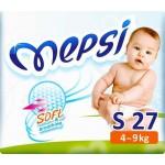 Памперс Подгузники Mepsi (4-9кг) 27шт