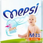Памперс Подгузники Mepsi (6-11кг) 21шт
