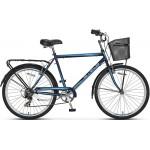Велосипед 2808 2-х колесный, с корзиной Байкал муж.