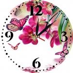 Часы настенные круглые 30*30 арт А8